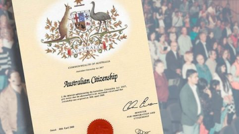 Citizenship Bill Australia