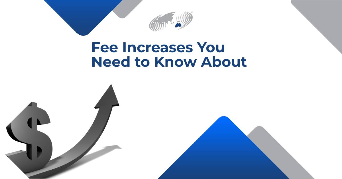 """Featured image for """"Fee Increases You Need to Know About"""""""