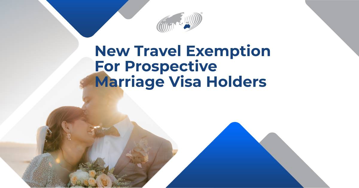 """Featured image for """"New Travel Exemption For Prospective Marriage Visa Holders"""""""
