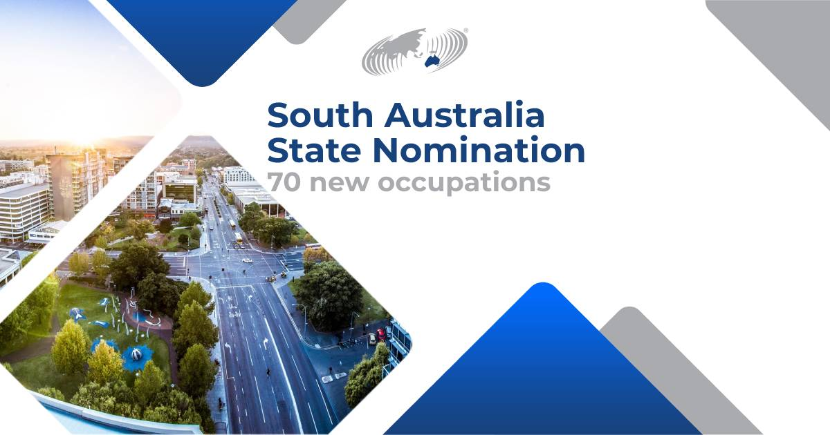 """Featured image for """"South Australia State Nomination Update for Offshore Applicants"""""""