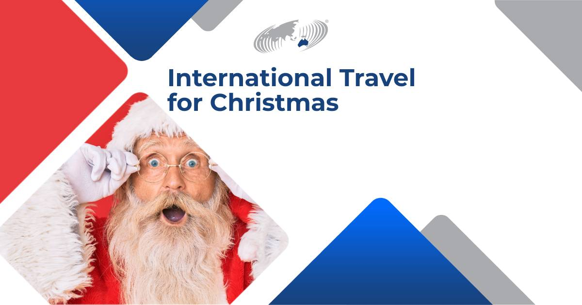 """Featured image for """"International Travel for Christmas"""""""